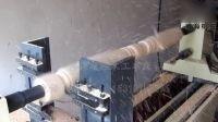 博海数控木工车床制作9公分木方楼梯立柱
