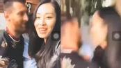疑似中国女球迷强吻梅西 网友怒了:女流氓骚扰