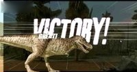 侏罗纪公园恐龙格斗游戏 霸王龙顺利通关!