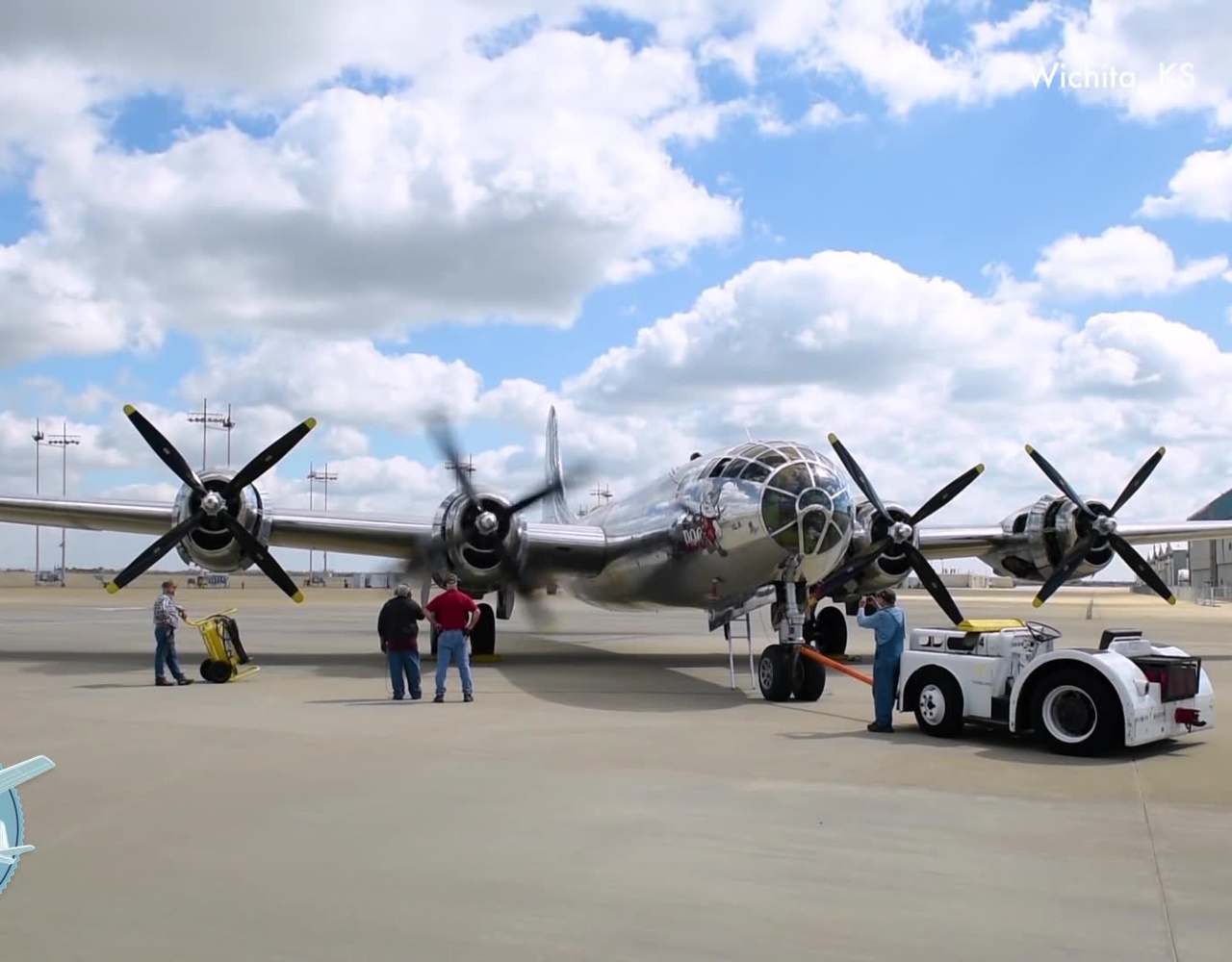 B-29 Doc- 引擎发动