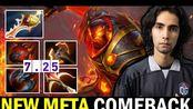 【SumaiL·火猫·21-4-11】SUMAIL 7.25 Ember Spirit New Meta — Incredible Comeback