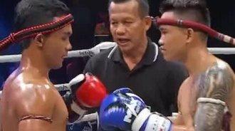 看了真正的泰式规则拳赛瞬间就感觉在中国看的都是假泰拳