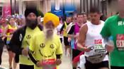 5000米用时42分30秒23 美国96岁老者打破世界纪录