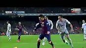 西甲巴萨vs马竞3比1全场进球集锦 超清足球比赛 视频