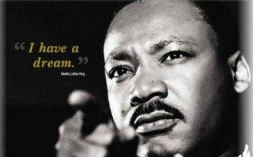 【我有一个梦想】 - 马丁·路德·金