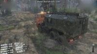 旋转轮胎越野段视频