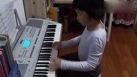 电子琴演奏《彩云追月》