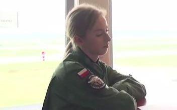 年轻的波兰米格-29女飞行员