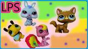 卡通动画动物世界公仔玩具试玩