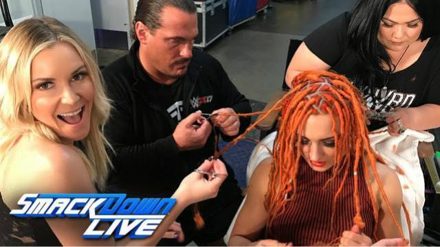SD 04/04:上妆容易卸妆难 贝基林奇的发型拆起来好遭罪