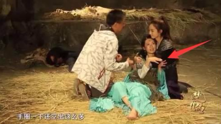 """颖宝李沁硬将淳儿被虐戏演成喜剧, 把一旁""""躺尸""""的牛骏峰逗活了!"""