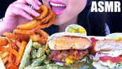 【phan】快餐大餐(洋葱圈、培根芝士堡、鸡肉汉堡、薯条)潘(2019年8月1日5时11分)