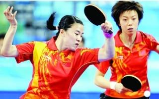 08北京奥运会女乒决赛两代大魔王同队实力碾压对手