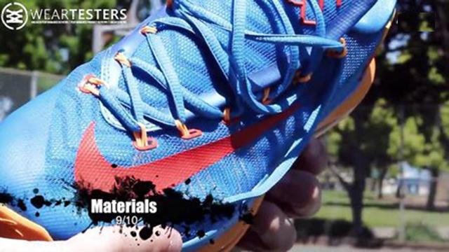 实战测评!杜兰特5代精英版球鞋