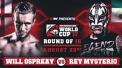 Rey Mysterio vs. Will Ospreay WCPW Pro Wrestling World Cup - Tag 1 2017.08.23