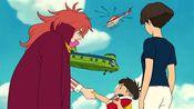 悬崖上的金鱼姬:小男孩亲了金鱼公主,金鱼公主彻底变成人类!