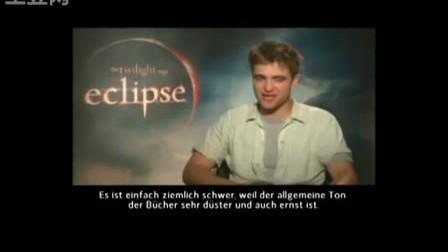 Robert Pattinson's interview with Filmstarts.de
