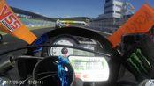 川崎ZX-6R 冈山国际赛道狂飙1分35秒944 第一视角车载