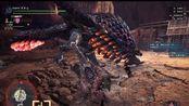[MHWI]盾斧最速记录更新!4分12秒速杀红莲爆鳞龙!