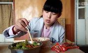 时理凉皮加凉面和生菜伴萝卜1193【处女座的吃货】中国吃播,国内吃播,时理投稿吃出个未来·吃饭直播,大吃货爱美食,大胃王,减肥,美食人生,吃饭秀