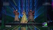 歌手格格央视开门大吉演唱《成吉思汗舞曲》嗨爆全场!