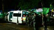 泰国开始将受困少年足球队转移出溶洞 第一批4名少年足球队员获救 身体状况良好