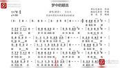 中音萨克斯学习《梦中的额吉》的bE调简谱-流畅360P