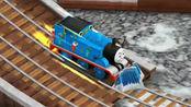 托马斯小火车竞速游戏多多岛冬季