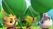 小熊尼奥之梦境小镇 英文版 第5集 飞到云上的风筝