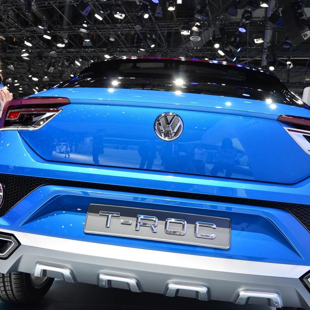 一汽大众首款SUV T-ROC亮相 能否续写途观神话呢?