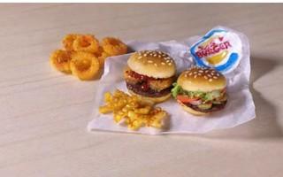 【杏乾兒的粘土&软陶搬运城堡】教你做汉堡王套餐ε(*′