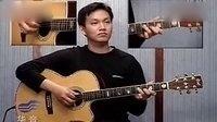 【开心学吉他】卡农他弹唱指弹独奏,卡农吉他谱简单版,卡农吉他视频教学