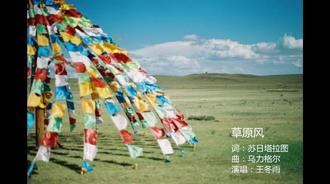 王冬雨《草原风》祝福家乡内蒙古成立70周年!