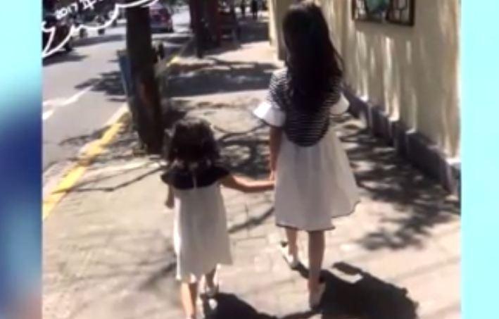 马伊琍罕见晒俩女儿合照 姐妹牵手画面超有爱