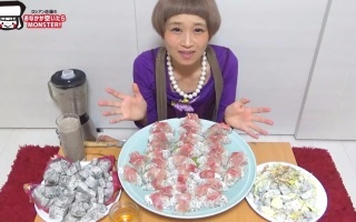 【日本大胃王】俄罗斯佐藤吃12个火龙果