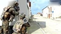 军事.特种部队.陆军.反恐.欧洲.法国.常规部队配合装甲战车联合军事演习
