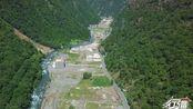这条山谷背靠四姑娘山,离川藏北线只有几公里:航拍夏季毕棚沟