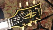 【电吉他】60万的吉他什么声?Gibson元年1959 Les Paul Custom Black Beauty aka the fretless wonder
