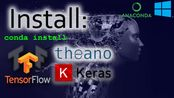 Install Tensorflow GPU Keras and Theano for Anaconda Navigator in Windows. Ste