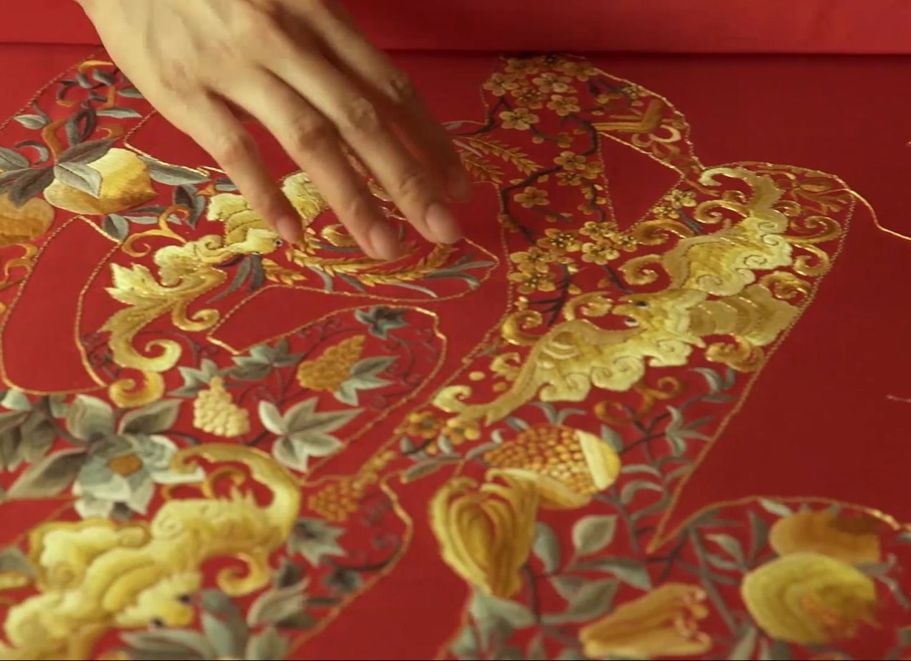 【皇家刺绣】有一种帝王的尊贵,叫京城刺绣!