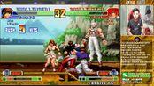 【小孩曾卓君】拳皇98c居然还有比导师厉害的火舞! 小孩vsUP 7月5号