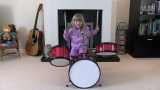 【霓红光时期-重新搬运】剪辑成的儿童专业鼓手