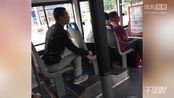 怒!石家庄一公交上变态男趁女孩熟睡猥亵被网友当场拍下