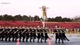 2019年12月5日16点49分,天安门广场降国旗仪式、太隆重了