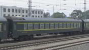 HXD3D 0597 T130次(齐齐哈尔-大连)出平齐线齐北场 2018.05.15