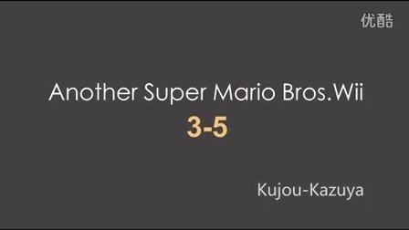 [Kujou解说]Another版超级马里奥兄弟wii 3-5星星金币收集流程解说——Another Super Mario Bros.Wii