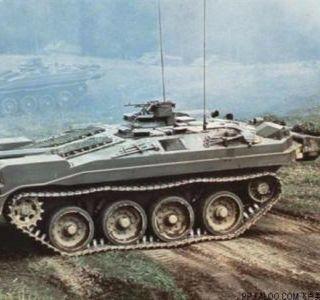 瑞典Strv103(S主战坦克)