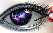手绘-眼中的星辰大海
