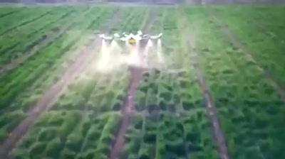 国产农药喷洒无人机15升容量7米宽每小时5公顷