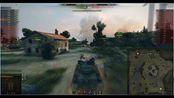 【wot】坦克世界lod解说 amx-30b 点打1w2